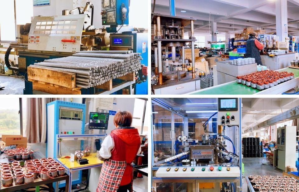 三相力矩电机直流电机生产线