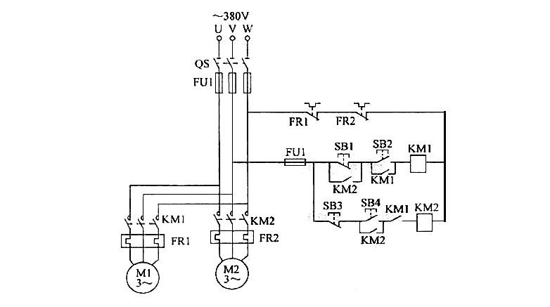 三相异步电动机顺序控制原理