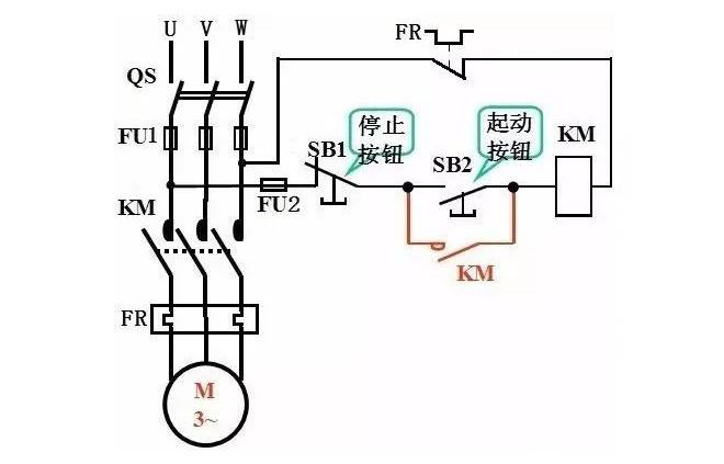 三相异步电动机连续控制